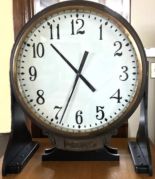 Gresham Historical Society_Meet Me Under The Clock_Secondary Clock