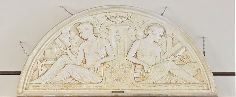 Gresham Historical Society_Plaster Bas-Relief_2